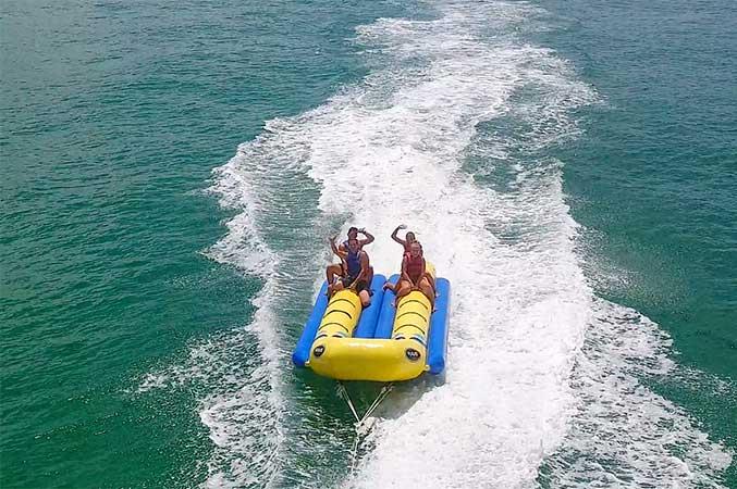 Banana Boat Rides In Panama City Beach