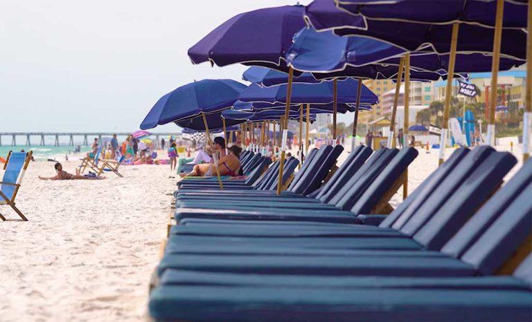 Beach Chair Rentals Fun In Panama City Beach