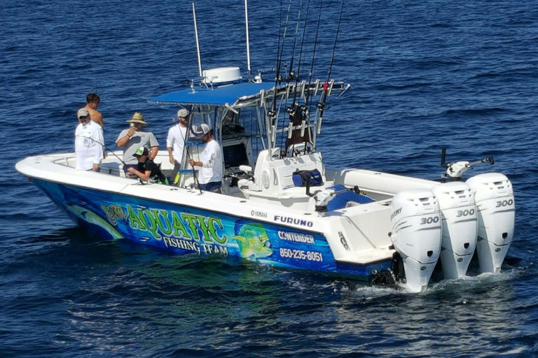 deep sea fishing trips fun in panama city beach