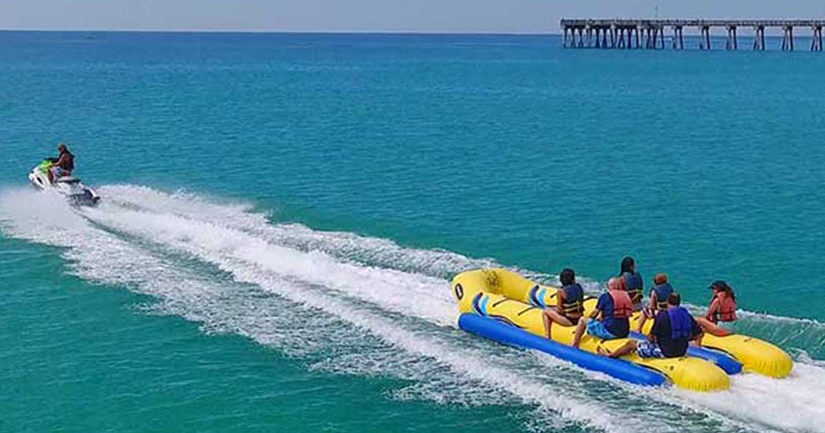 banana boat water